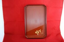 TRAY JAPANESE TRADITIONAL TEA CEREMONY MATCHA MADE IN JAPAN RARE PLATEAU VIDE
