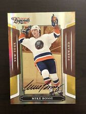 Mike Bossy 2008 Sports Legends Auto Autograph #14/25