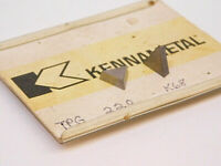 NEW SURPLUS 10PCS. KENNAMETAL  TPG 220  GRADE: K68  CARBIDE INSERTS