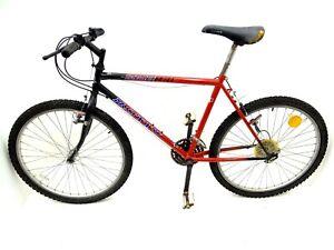 Vintage Used Motiv Backcountry MTB Mens Mountain Bike Bicycle Hi Ten Shimano