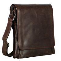 LEONHARD HEYDEN Dakota Messenger Bag S Umhängetasche Tasche Brown Braun Neu