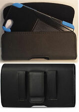 IPHONE 78 PLUS HOLSTER BELT LOOP CLIP LEATHER POUCH FITS WITH A HYBRI