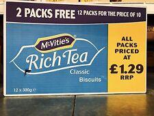 McVities galletas Rico Té Completo Funda 12 X 300g entrega gratuita sólo £ 15.39