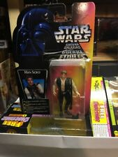 ~ STAR WARS Han Solo 1995 Complete Box Damaged