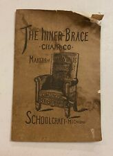 ARTS & CRAFTS 1910s Inner Brace CHAIR Company Brochure Quality Find