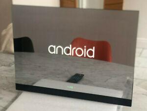"19"" 2021 Waterproof Bathroom LED Mirror  SMART ANDROID TV WIFI ETHERNET"