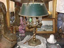 Lampe bouillotte à huile du milieu du XIX siècle