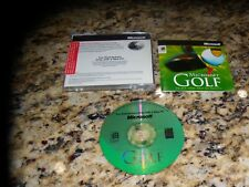 Microsoft Golf (PC, 1996) Near Mint Game