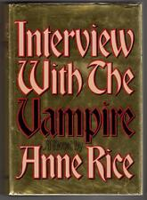 Interview with the Vampire by Anne Rice 1st Edition