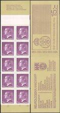 Sweden 1974 King Carl XVI Gustav/Royalty/Royal/People/Definitive 10v bklt n45388