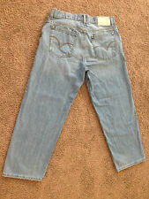 SilverTab BAGGY Mens Size 34 x 30 Jeans Pants ~USED