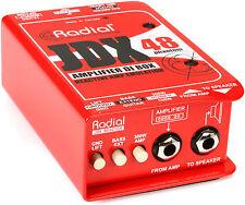 Radial JDX 48 Amplifier Direct Box W/ Reactive Load Phantom Powered JDX-48 JDX48