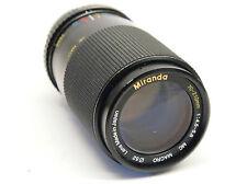 Miranda 70-210mm f/4.5-5.6 Lente Pentax PK Montaje Stock no. U6863