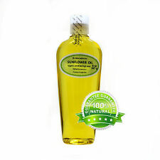 8 OZ SUNFLOWER SEED OIL UNREFINED COLD PRESSED ORGANIC