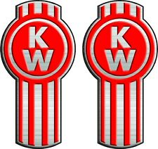 Kenworth Truck Decals Semi, Trailer, Wall: Decal Pair!!