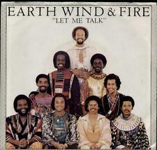 "EARTH WIND & FIRE Let Me Talk  7"" Ps"