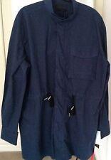 Diesel Black Gold Men's Blue Coat.Size M. RRP £205