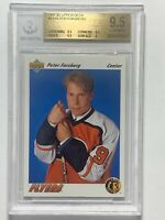 Peter Forsberg 1991 Upper Deck NHL Rookie RC Card BGS GEM MINT 9.5 Flyers