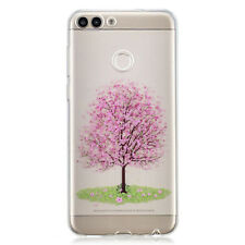 Clear Slim Rubber TPU Phone Case Cover Skin For Huawei Y5 Y7 2018 Mate 10 Lite