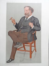 Original Vanity Fair Print; Joseph William Comyns Carr - 1893 - Art/Drama Critic