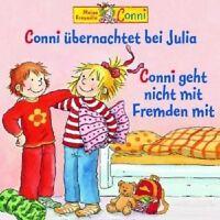 """CONNI """" FOLGE 37: CONNI ÜBERNACHTET BEI JULIA/NICHT MIT FREMDEN"""" CD HÖRBUCH NEU"""