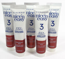 5 Clairol n Nice Easy CC+ ColorSeal Conditioner Revialisant RADIANT REDS 1.85oz