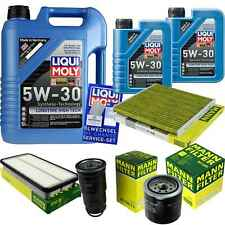 Inspection Kit Filter Liqui Moly Oil 7L 5W-30 for Toyota Rav 4 II CLA2_ XA2_