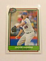 2020 Topps Future Stars Club Baseball May - Jacob deGrom - New York Mets