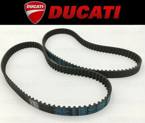Set of (2) Camshaft Timing Belts Ducati 749/996/998/999/1000 (See Fitment Chart)