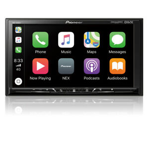 "Pioneer DMH-1500NEX 2 DIN Digital Media Player 7"" Bluetooth CarPlay Android Auto"