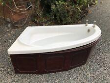 Corner Bath Mahogany