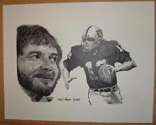 Ken Stabler - Oakland Raiders 1st Super Bowl winning quarterback - 11 x 14 print