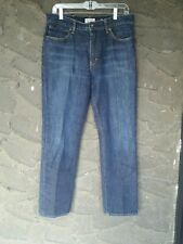 J.Crew 32 X 30 Men's Blue Jeans Distressed Wet Look Mid-rise 100% Cotton