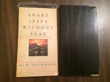 *Sealed* NIV 1984 'Share Jesus without Fear' New Testament Bible -Bonded Leather