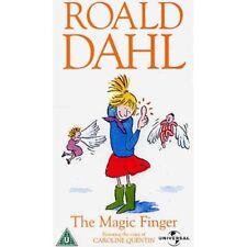 THE MAGIC FINGER Roald Dahl VHS SEALED Caroline Quentin
