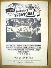 COPPA UEFA 1989-plastika Nitra V FC KOLN