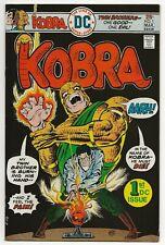 Kobra #1 (Feb-Mar 1976, DC) Pasko/Kirby+Marcos [origin] FN/VF