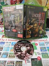Xbox:The House of the Dead III [TOP SEGA & 1ERE EDITION] SANS NOTICE - Fr