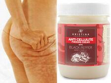 Hot Chilli ANTI CELLULITE Cream w/ BLACK PEPPER Deep Effect Body Firming 200ml