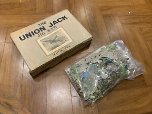 Vintage The UNION JACK Jig Saw No. 2 Vickers Bomber Wartime Pack RARE