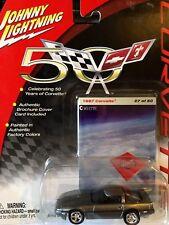 50th Anniversary - 1987 Corvette Johnny Lightning 1:64 Die-Cast #27 of 50