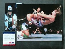 John Cena Rare! early signed WWE vs Jericho 8x10 photo PSA/DNA cert PROOF!!