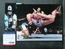 John Cena Rare! early signed WWE vs Jericho 8x10 photo PSA/DNA cert PROOF!!
