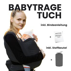 Babytragetuch Tragetuch Bauchtrage Bauchtragetuch Baumwolle Bis 15kg Neugeborene
