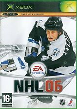 NHL 06 Microsoft Xbox 16+ Ice Hockey Game
