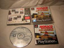 Playstation 1 Monaco Racing Simulation 2 PS1 PS2 2