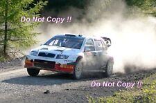 Colin McRae Skoda Fabia WRC Rally GB 2005 Photograph