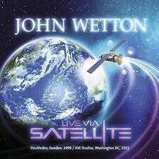 John Wetton - Live Via Satellite [New CD] UK - Import