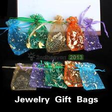 50x Mini Organza Candy Pendant Jewelry Gift Pouch Bags Wedding Party Favors