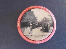 Methodist Hospital Grounds Button Badge 33mm